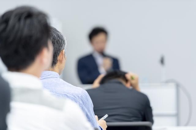 長野法人会経営実務研修会(2018年度)の松代部会の講師を務めました。